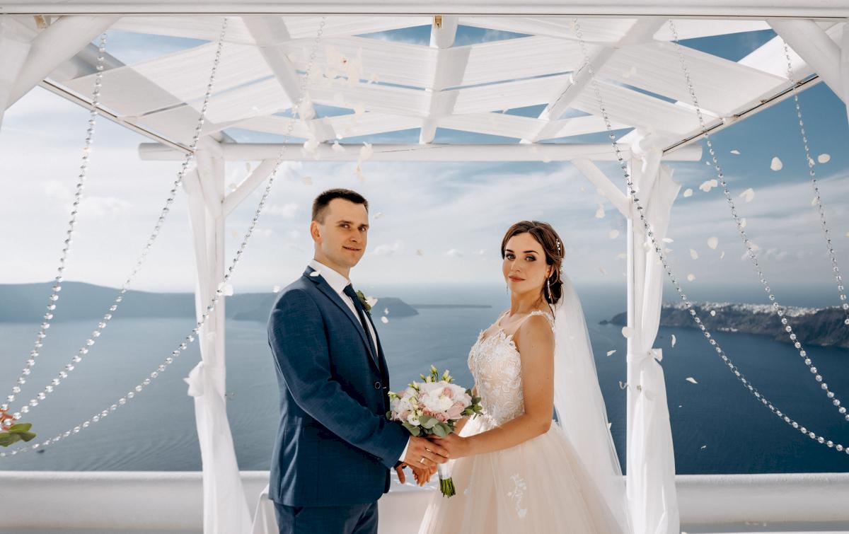 Юлия и Ярослав: свадьба на санторини, свадебное агентство Julia Veselova - Фото 3