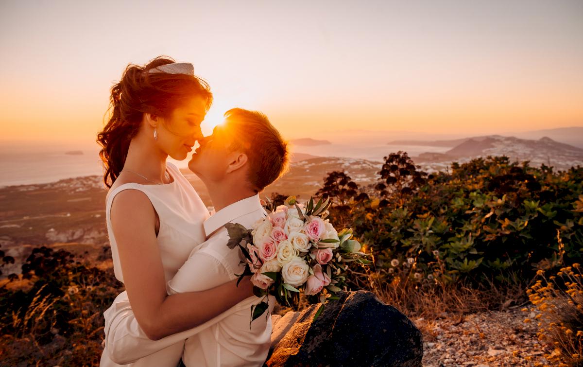 Любовь и Антон: свадьба на санторини, свадебное агентство Julia Veselova - Фото 9