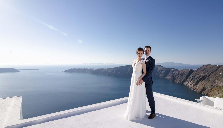 Наталья и Сергей: свадьба на санторини, свадебное агентство Julia Veselova - Фото 7