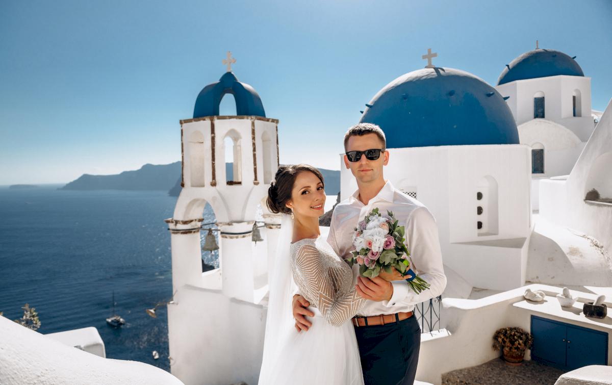 Анастасия и Иван: свадьба на санторини, свадебное агентство Julia Veselova - Фото 4