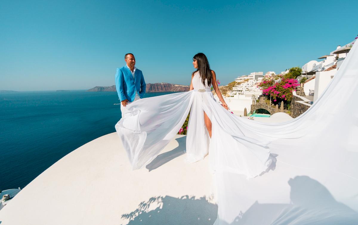 Иветта: свадьба на санторини, свадебное агентство Julia Veselova - Фото 13