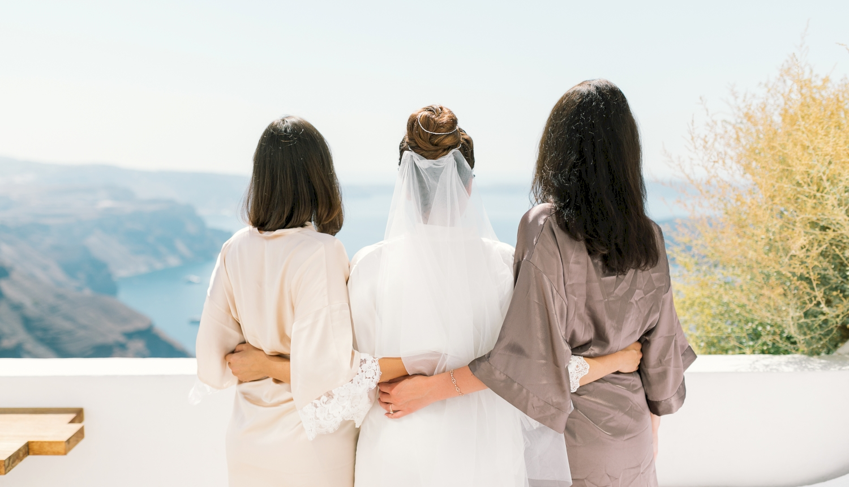 Алеся и Максим: свадьба на санторини, свадебное агентство Julia Veselova - Фото 1