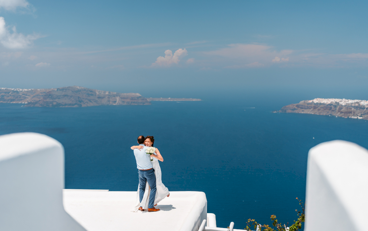 Ирина и Эдуард: свадьба на санторини, свадебное агентство Julia Veselova - Фото 9