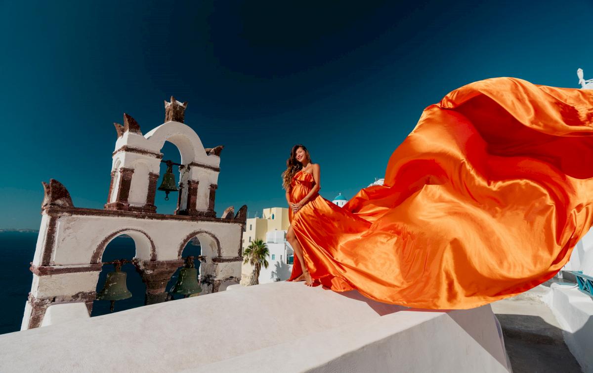 Регина Тодоренко: свадьба на санторини, свадебное агентство Julia Veselova - Фото 17