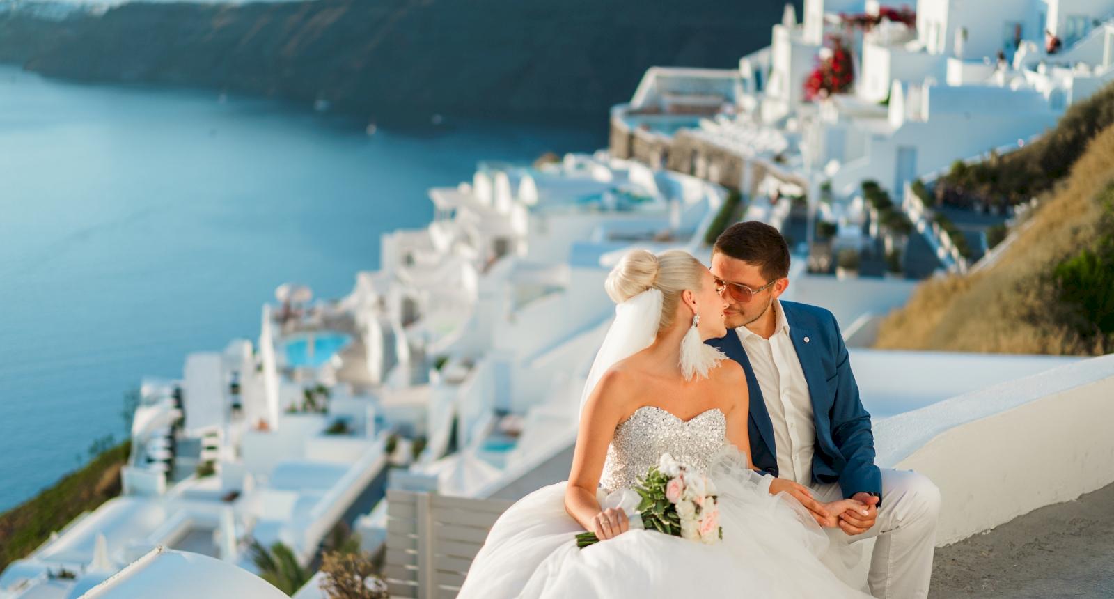 Екатерина и Дмитрий: свадьба на санторини, свадебное агентство Julia Veselova - Фото 5