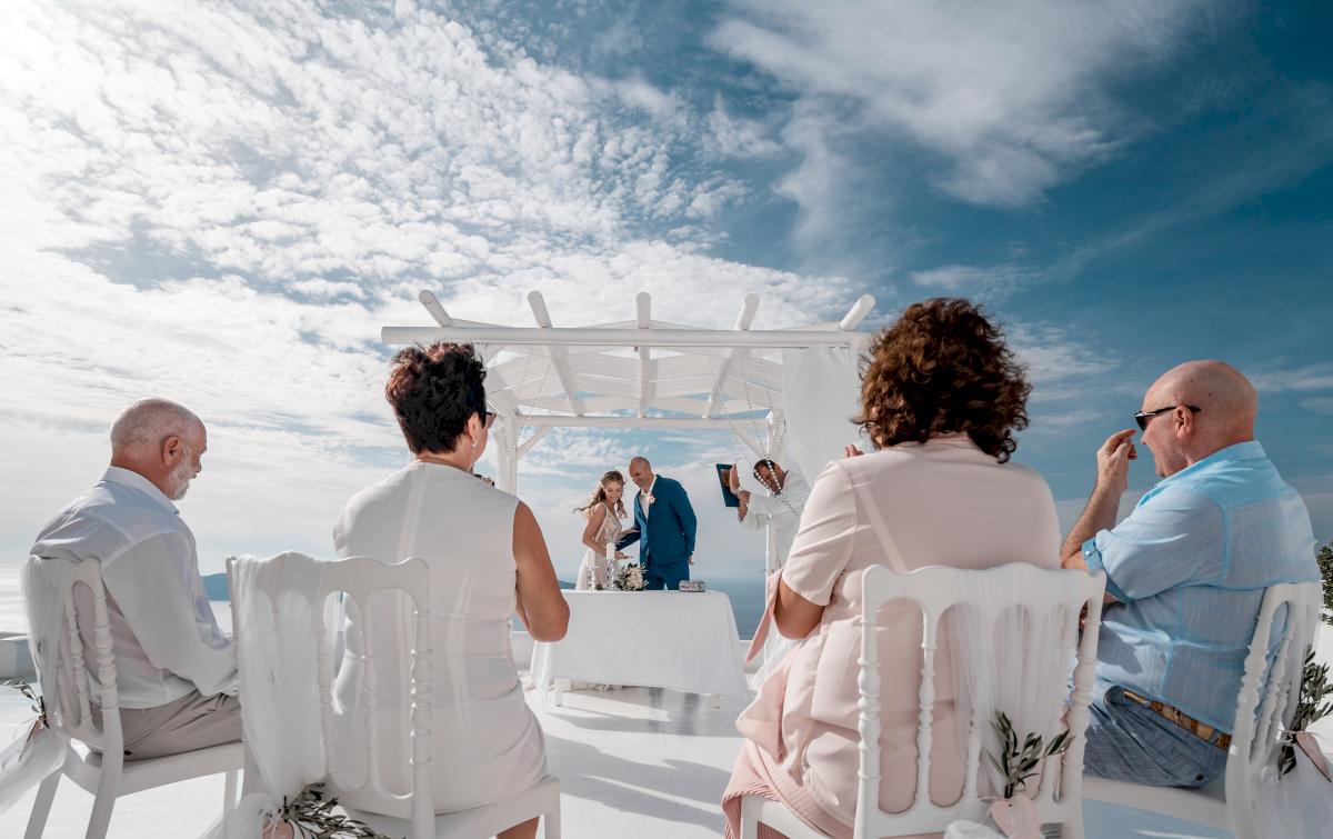 Екатерина и Артем: свадьба на санторини, свадебное агентство Julia Veselova - Фото 7