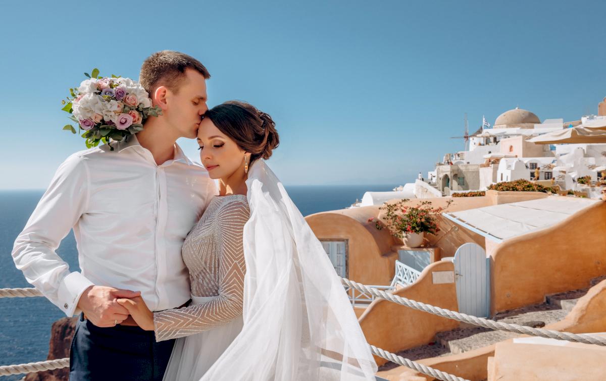 Анастасия и Иван: свадьба на санторини, свадебное агентство Julia Veselova - Фото 6
