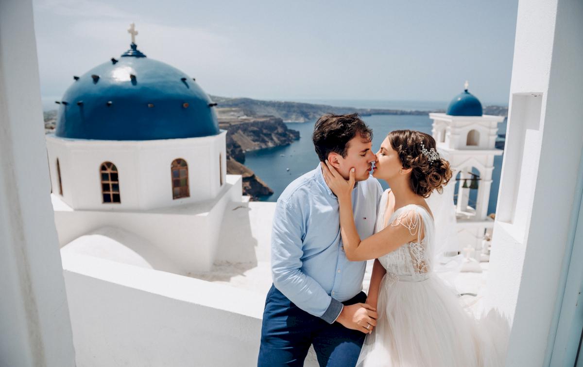 Анна и Андрей: свадьба на санторини, свадебное агентство Julia Veselova - Фото 5