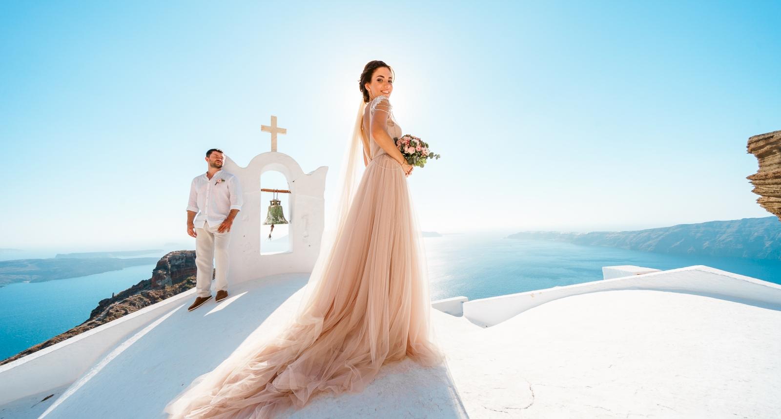 Елизавета и Павел: свадьба на санторини, свадебное агентство Julia Veselova - Фото 8