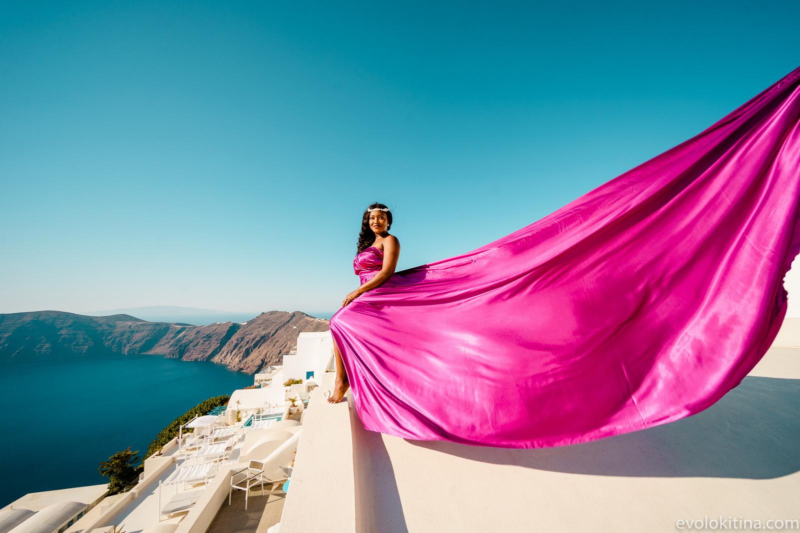 Amaka Sam: свадьба на санторини, свадебное агентство Julia Veselova - Фото 21