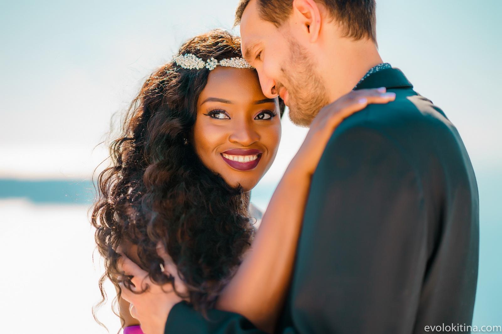 Amaka Sam: свадьба на санторини, свадебное агентство Julia Veselova - Фото 5