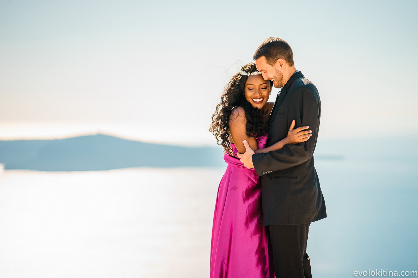 Amaka Sam: свадьба на санторини, свадебное агентство Julia Veselova - Фото 6