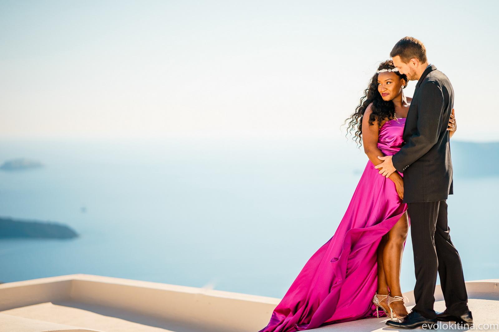 Amaka Sam: свадьба на санторини, свадебное агентство Julia Veselova - Фото 7