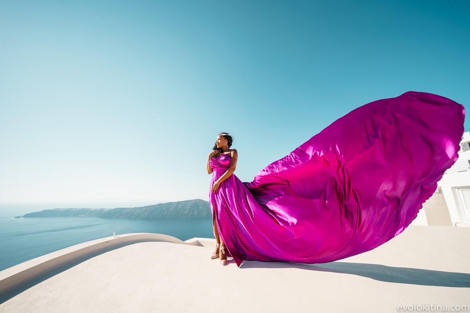 Amaka Sam: свадьба на санторини, свадебное агентство Julia Veselova - Фото 8