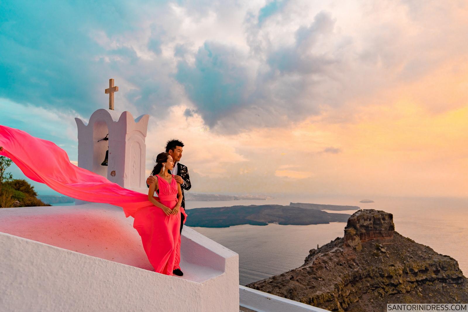 Lu Ning: свадьба на санторини, свадебное агентство Julia Veselova - Фото 1