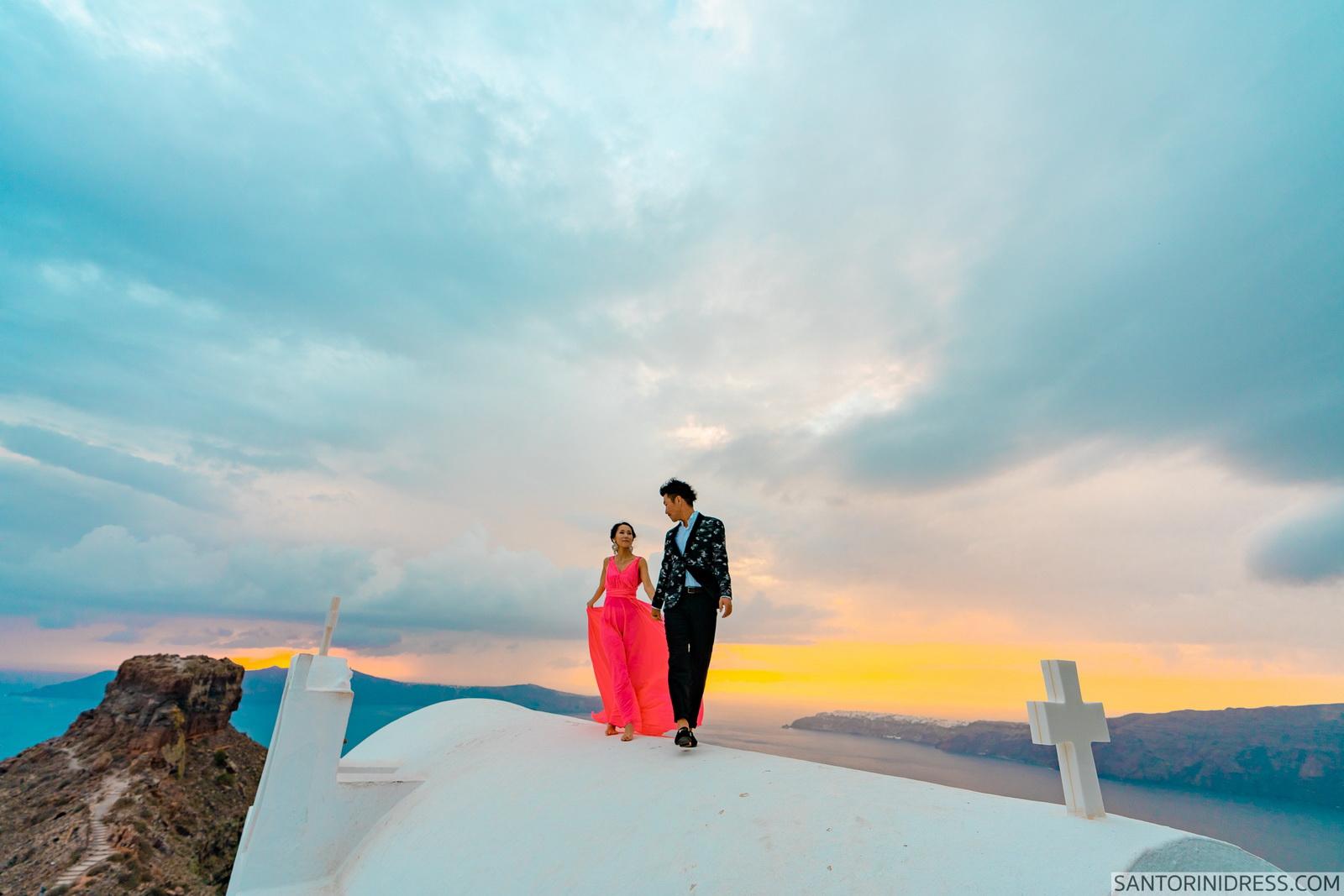 Lu Ning: свадьба на санторини, свадебное агентство Julia Veselova - Фото 10