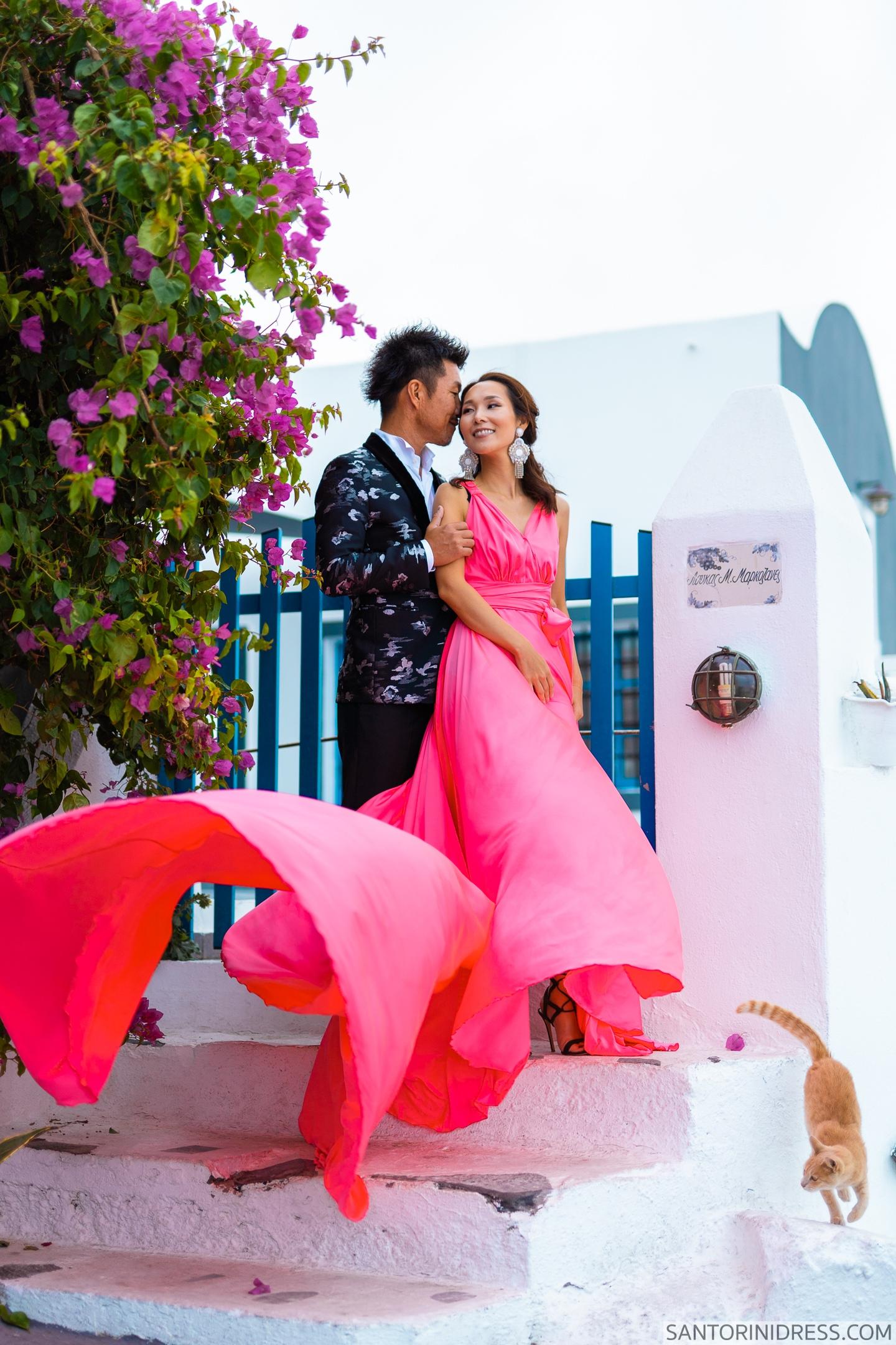 Lu Ning: свадьба на санторини, свадебное агентство Julia Veselova - Фото 11