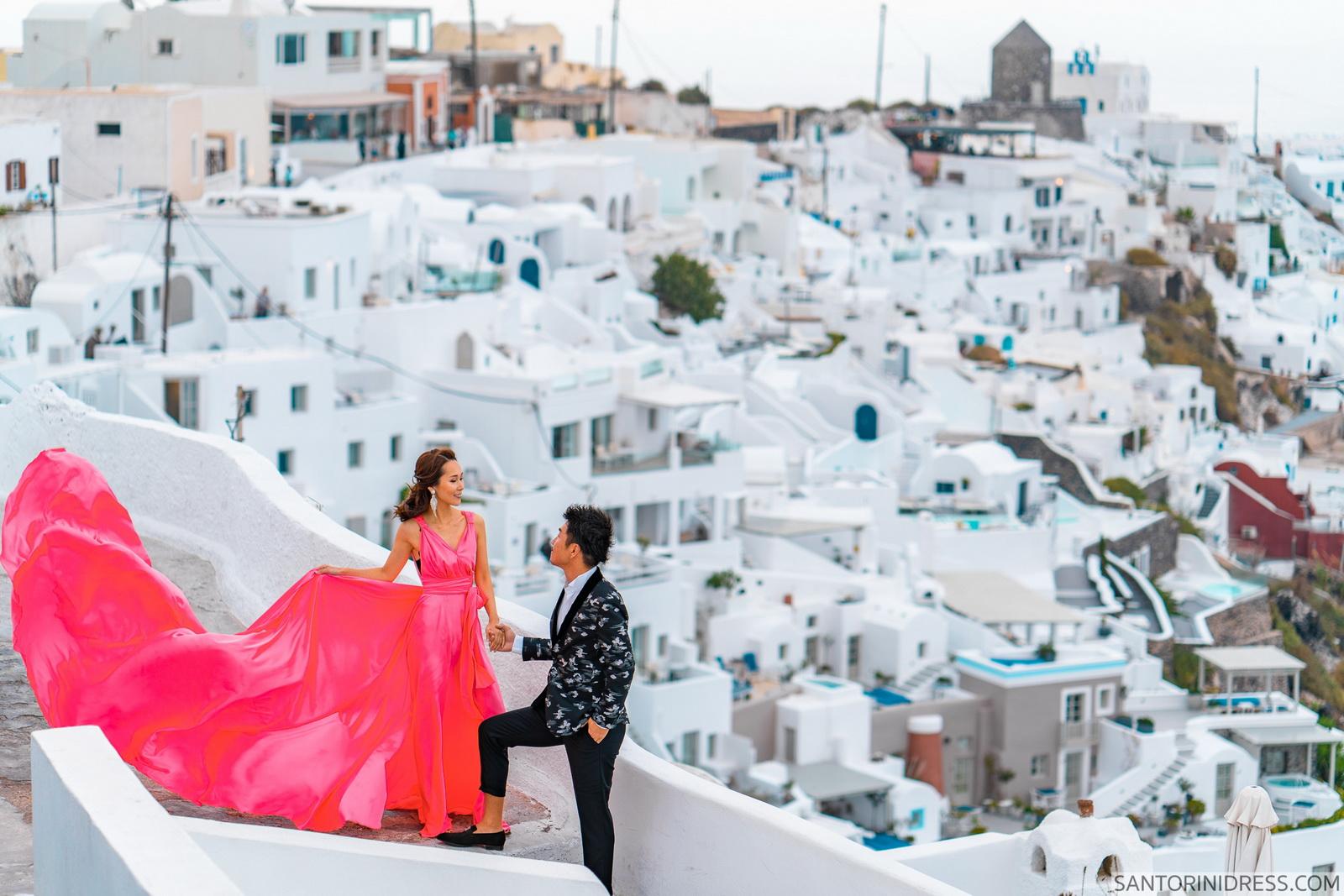 Lu Ning: свадьба на санторини, свадебное агентство Julia Veselova - Фото 12