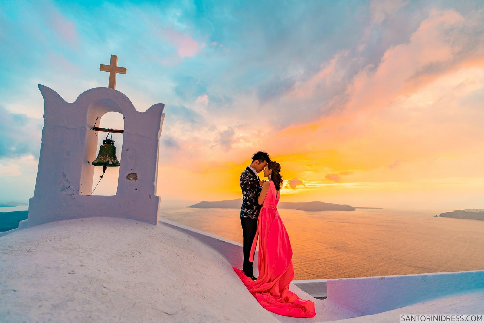 Lu Ning: свадьба на санторини, свадебное агентство Julia Veselova - Фото 13