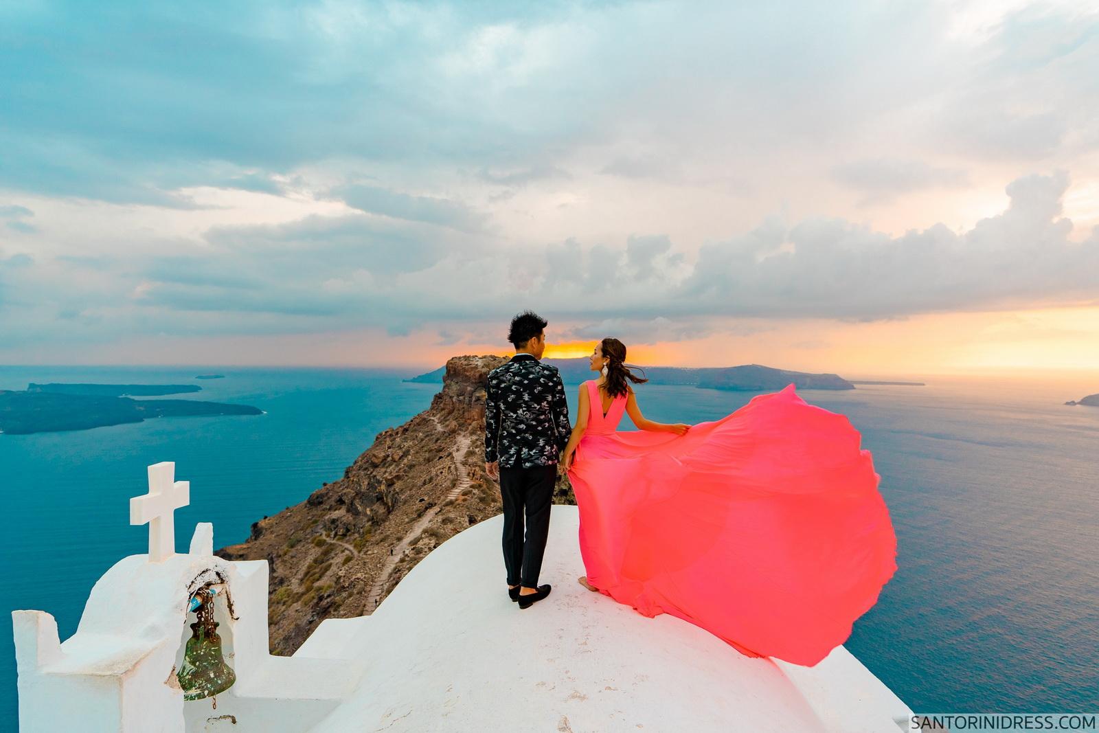 Lu Ning: свадьба на санторини, свадебное агентство Julia Veselova - Фото 14