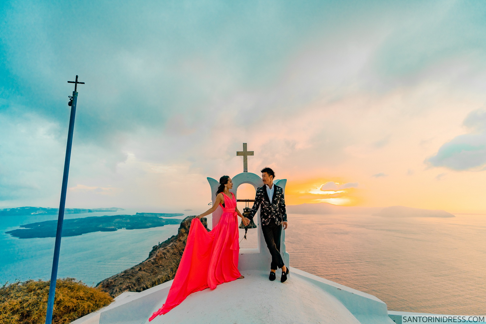 Lu Ning: свадьба на санторини, свадебное агентство Julia Veselova - Фото 2