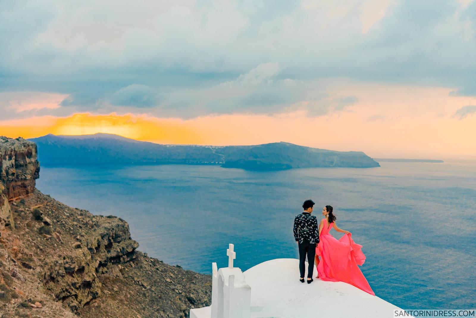 Lu Ning: свадьба на санторини, свадебное агентство Julia Veselova - Фото 7
