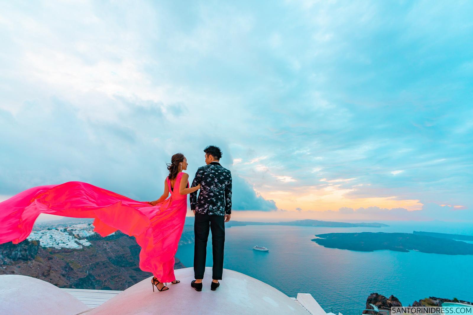 Lu Ning: свадьба на санторини, свадебное агентство Julia Veselova - Фото 8