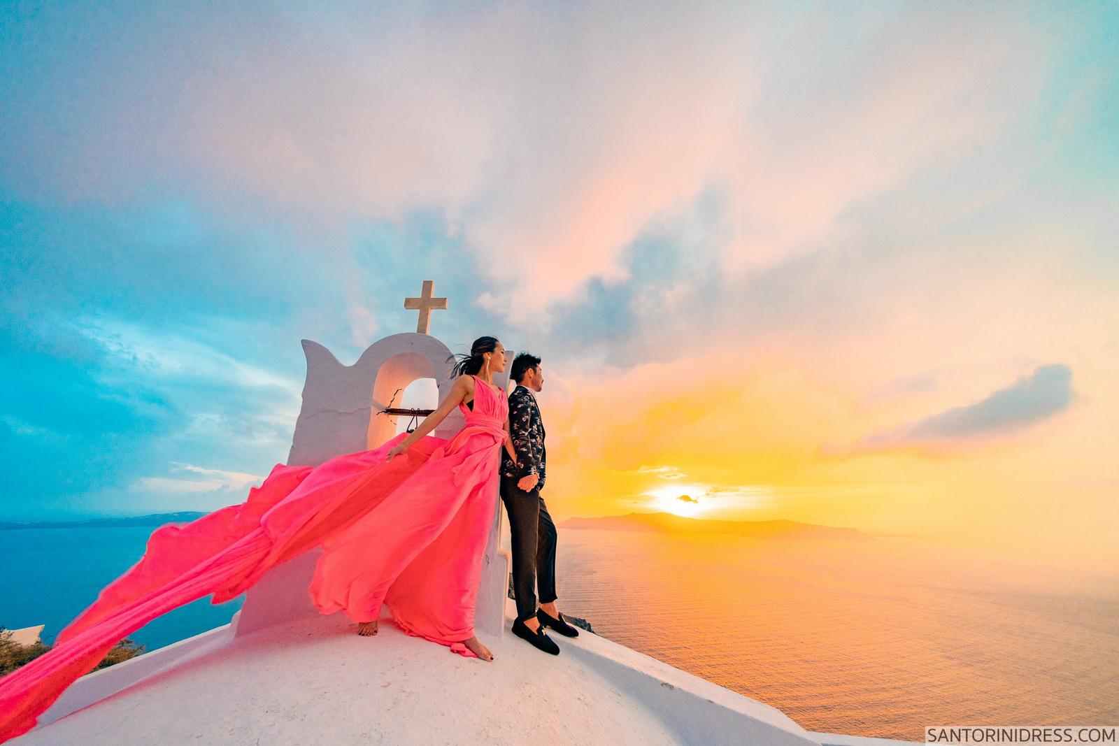 Lu Ning: свадьба на санторини, свадебное агентство Julia Veselova - Фото 9