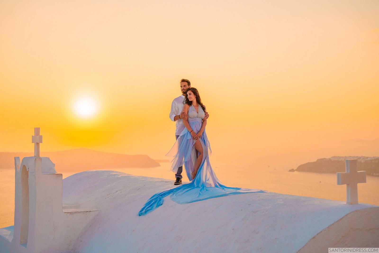Maria: свадьба на санторини, свадебное агентство Julia Veselova - Фото 1