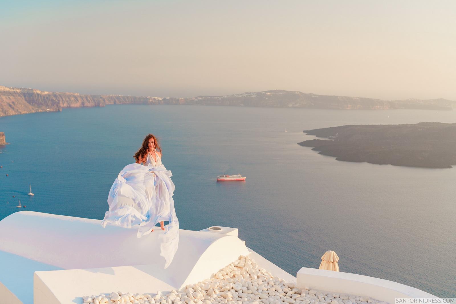Maria: свадьба на санторини, свадебное агентство Julia Veselova - Фото 2