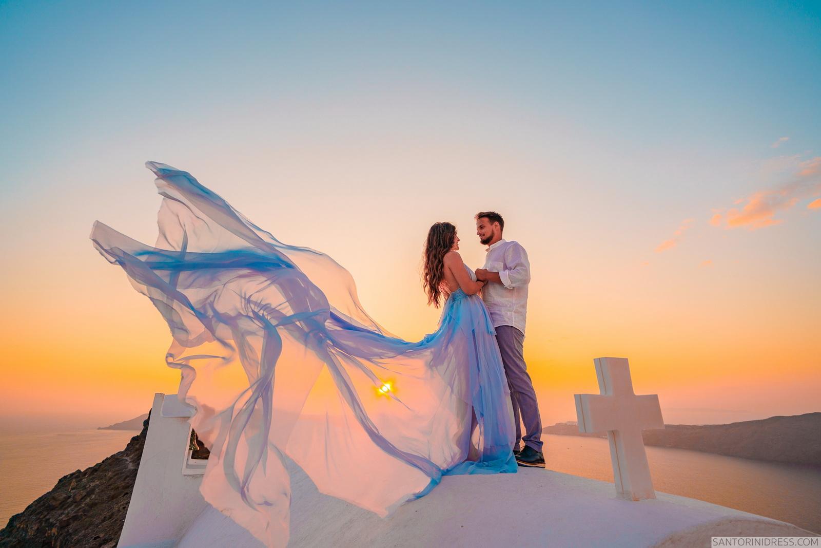 Maria: свадьба на санторини, свадебное агентство Julia Veselova - Фото 6