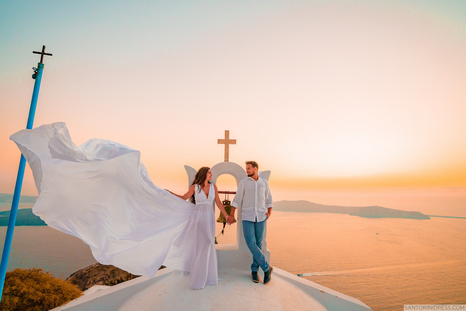 Maria: свадьба на санторини, свадебное агентство Julia Veselova - Фото 9
