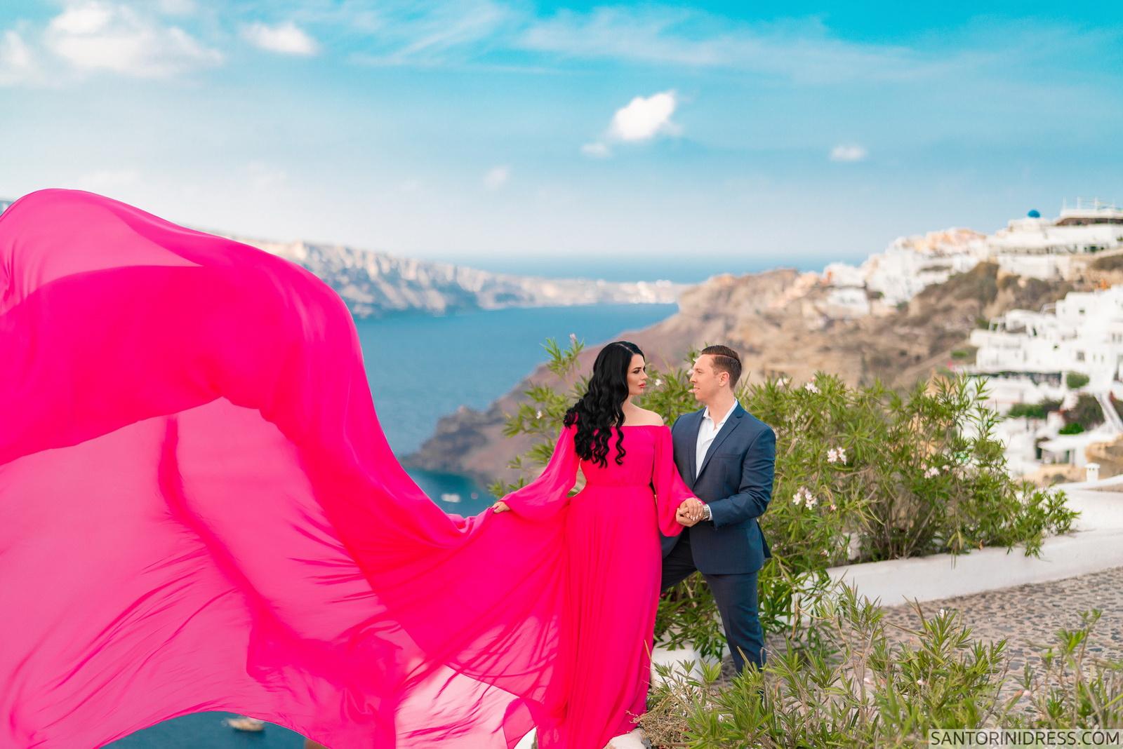 Meredith: свадьба на санторини, свадебное агентство Julia Veselova - Фото 1