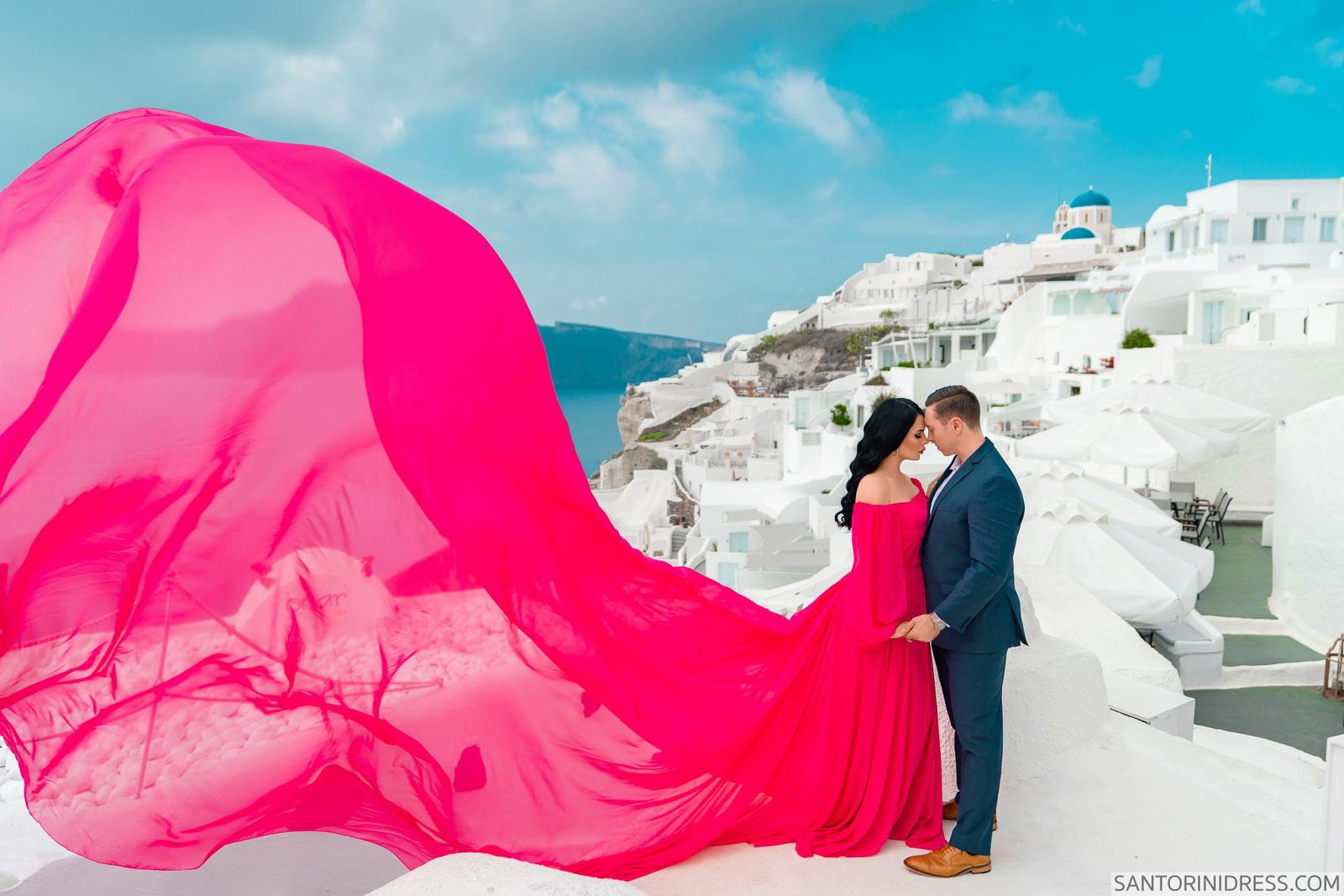 Meredith: свадьба на санторини, свадебное агентство Julia Veselova - Фото 11