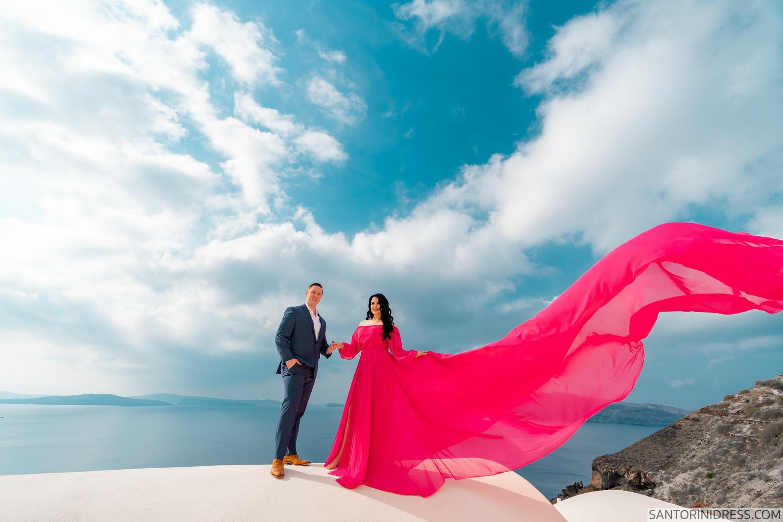 Meredith: свадьба на санторини, свадебное агентство Julia Veselova - Фото 12