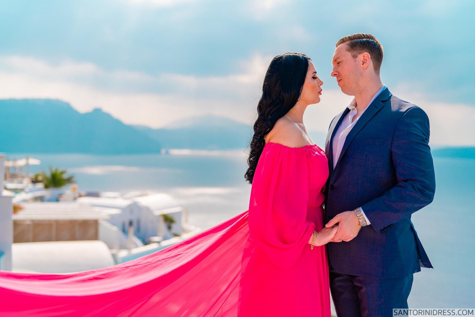 Meredith: свадьба на санторини, свадебное агентство Julia Veselova - Фото 13