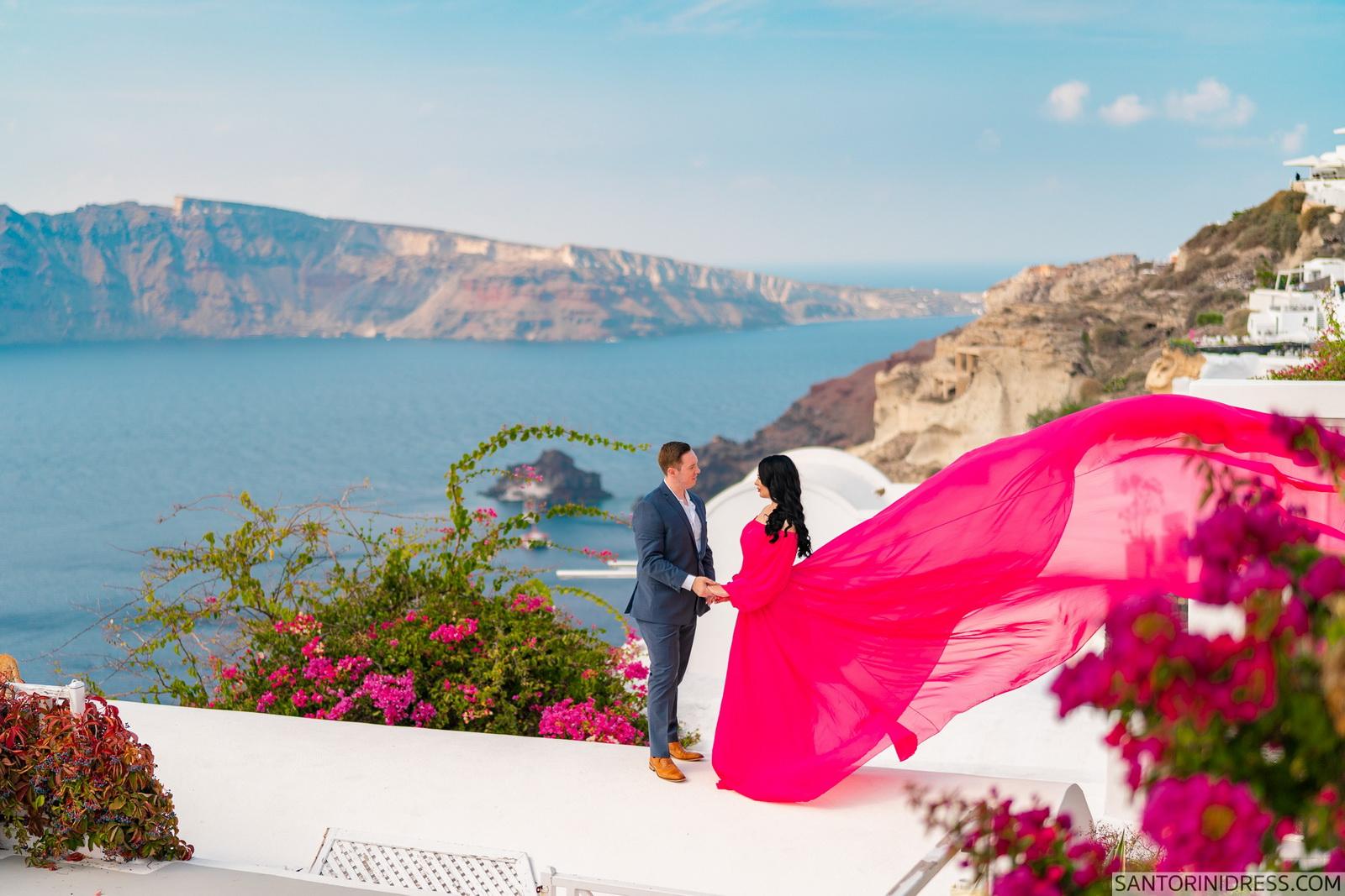 Meredith: свадьба на санторини, свадебное агентство Julia Veselova - Фото 16