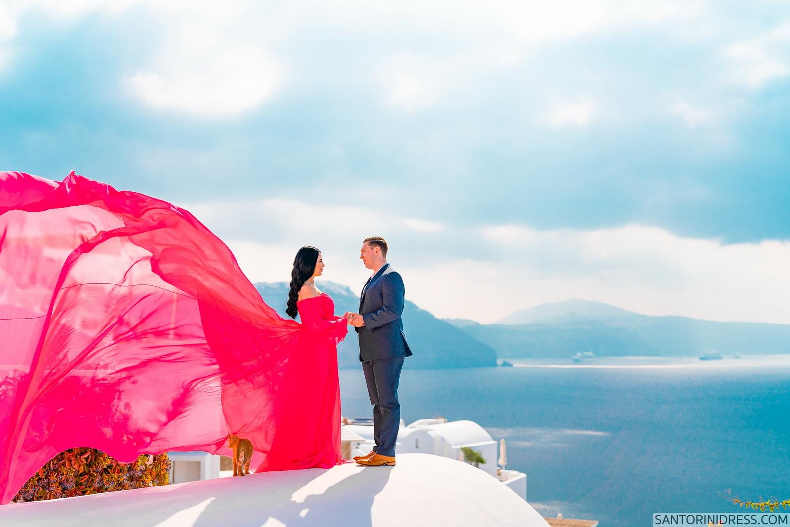Meredith: свадьба на санторини, свадебное агентство Julia Veselova - Фото 19