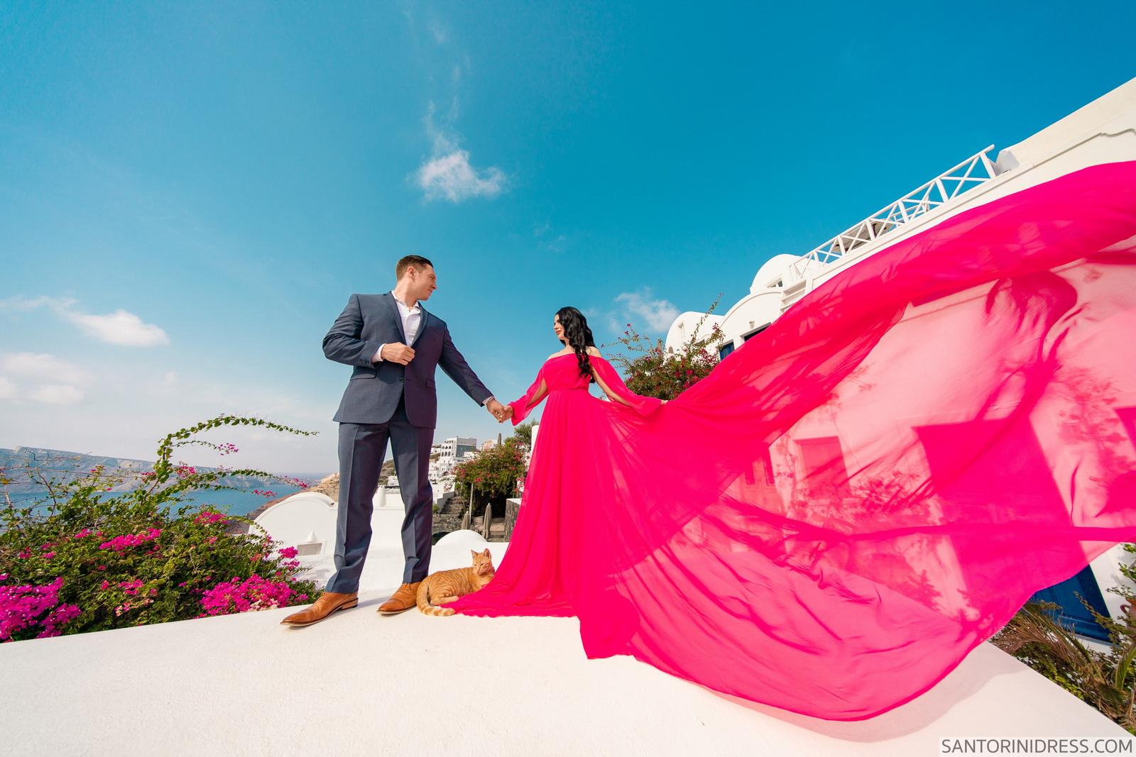 Meredith: свадьба на санторини, свадебное агентство Julia Veselova - Фото 5