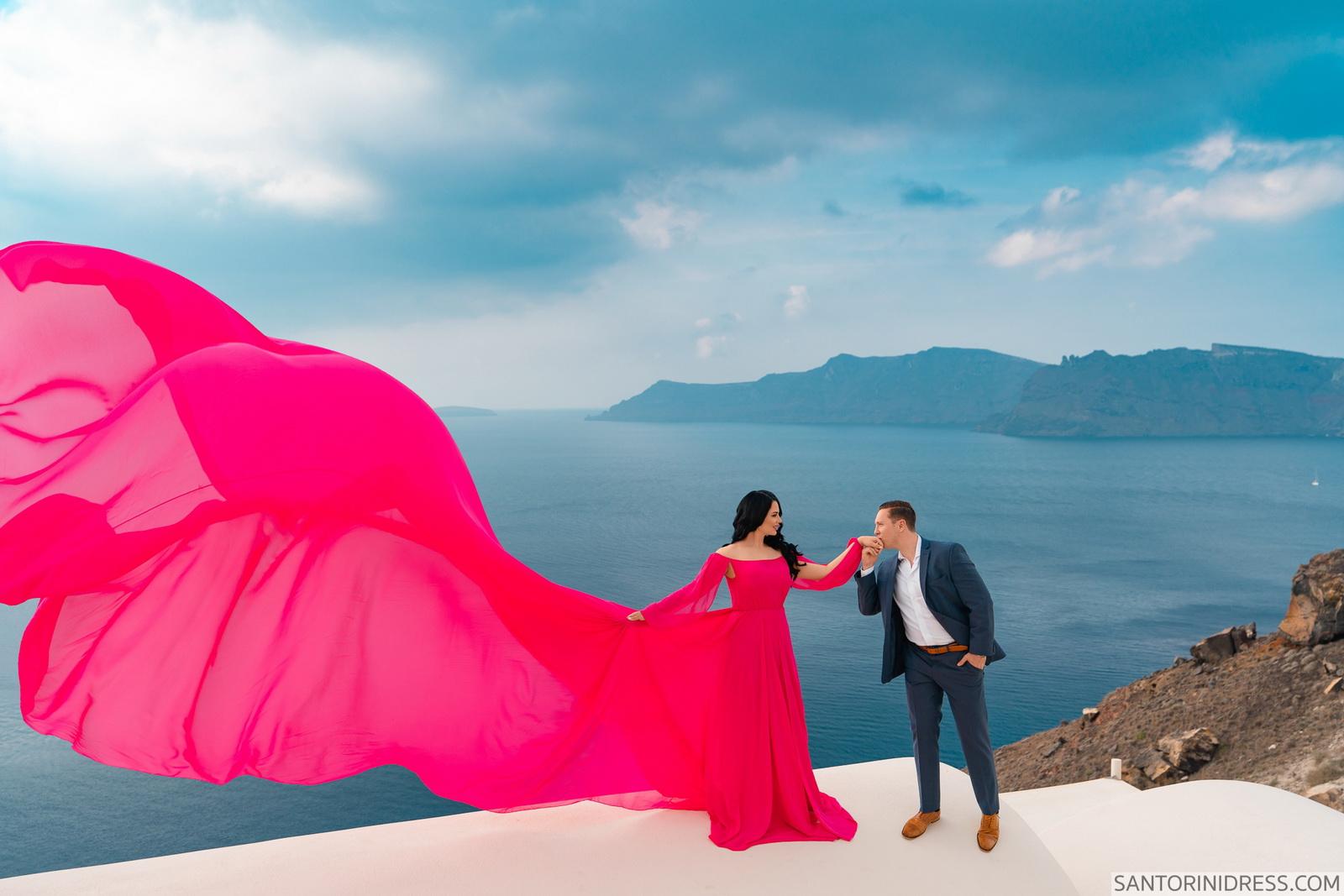 Meredith: свадьба на санторини, свадебное агентство Julia Veselova - Фото 7