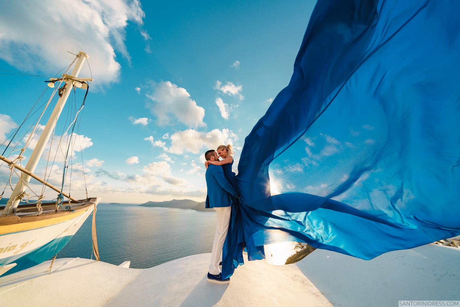 Shawna Bill: свадьба на санторини, свадебное агентство Julia Veselova - Фото 15