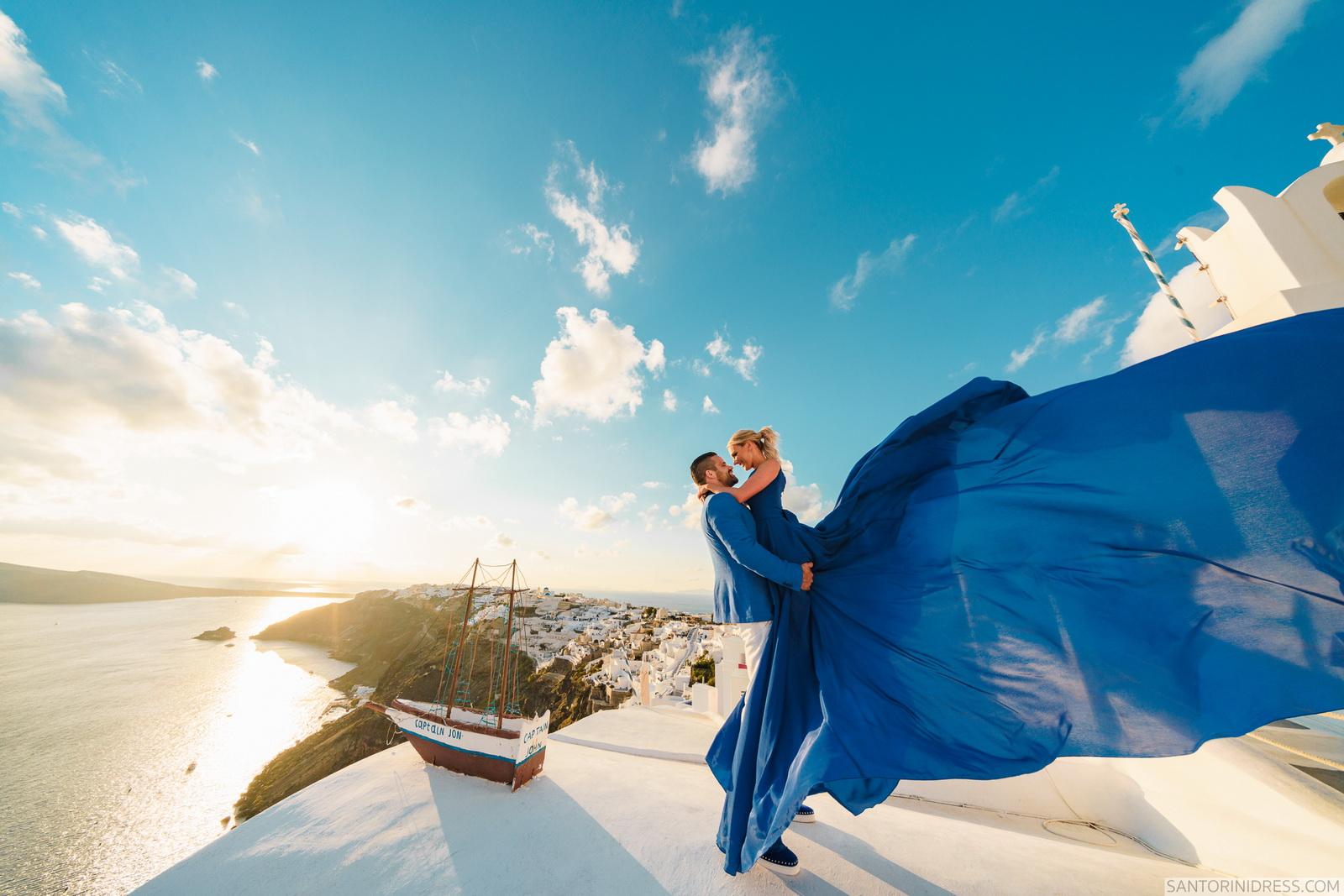 Shawna Bill: свадьба на санторини, свадебное агентство Julia Veselova - Фото 16