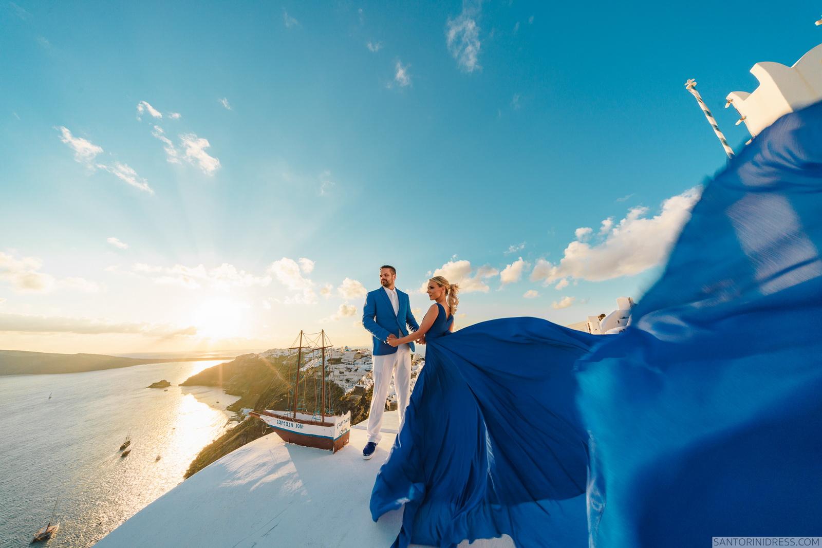 Shawna Bill: свадьба на санторини, свадебное агентство Julia Veselova - Фото 18
