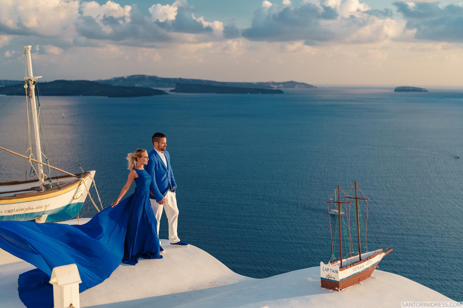 Shawna Bill: свадьба на санторини, свадебное агентство Julia Veselova - Фото 19