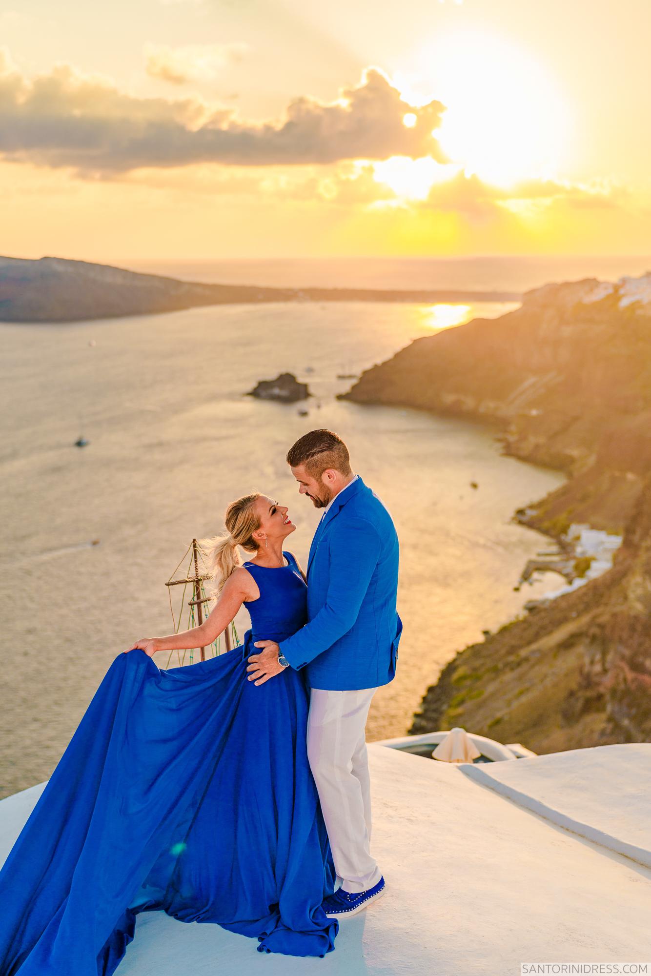 Shawna Bill: свадьба на санторини, свадебное агентство Julia Veselova - Фото 22