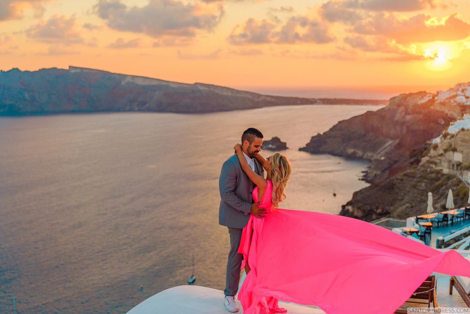 Shawna Bill: свадьба на санторини, свадебное агентство Julia Veselova - Фото 24