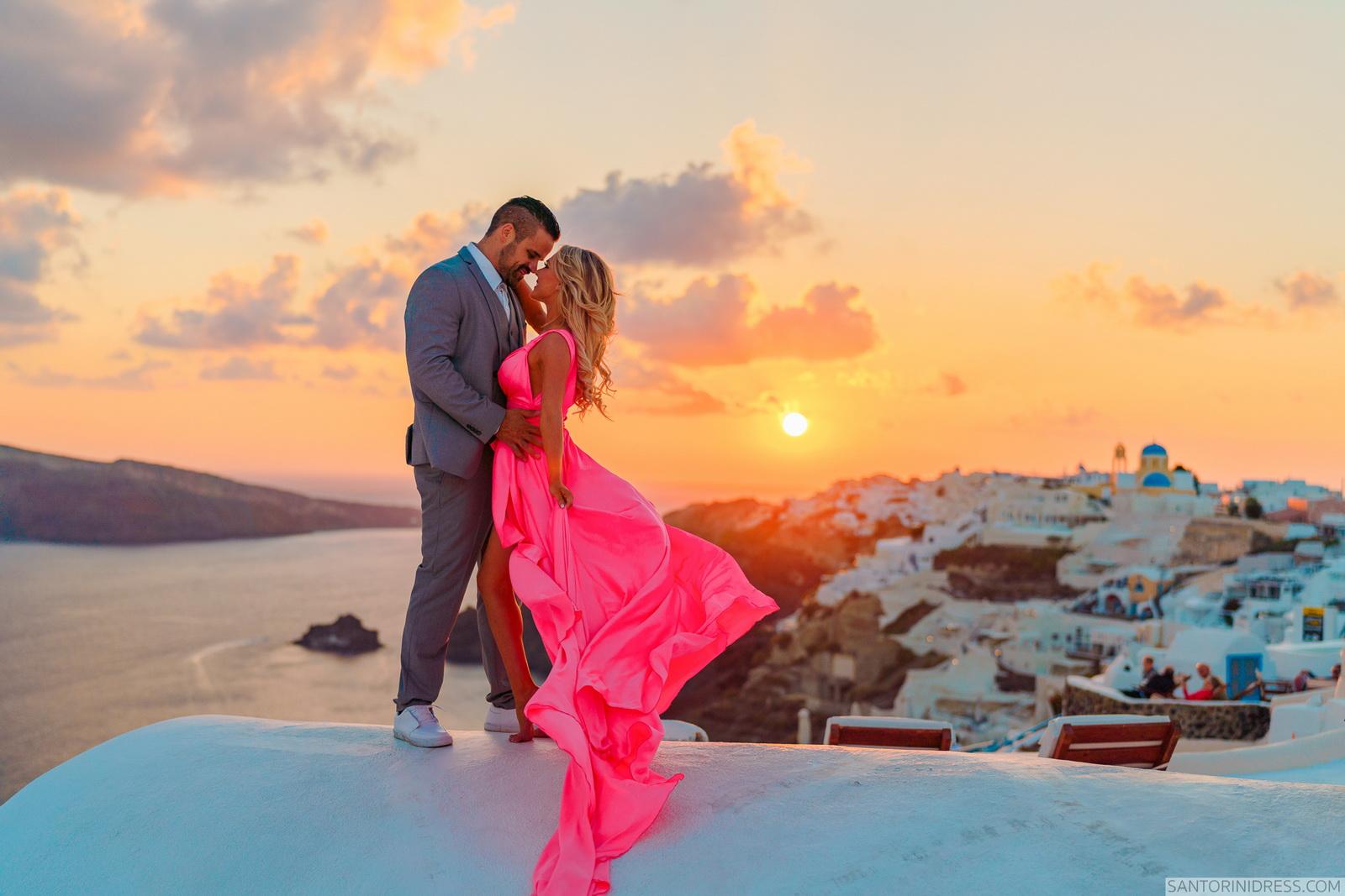 Shawna Bill: свадьба на санторини, свадебное агентство Julia Veselova - Фото 25