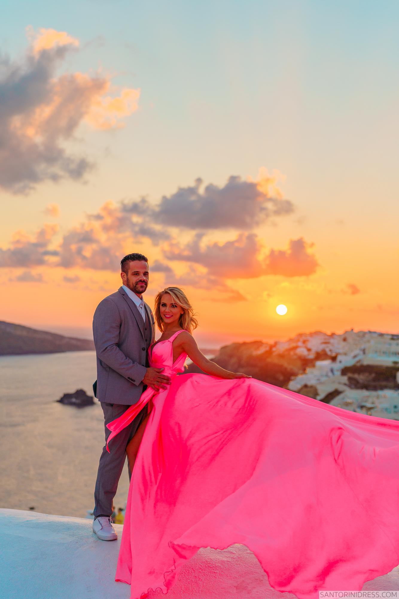 Shawna Bill: свадьба на санторини, свадебное агентство Julia Veselova - Фото 26