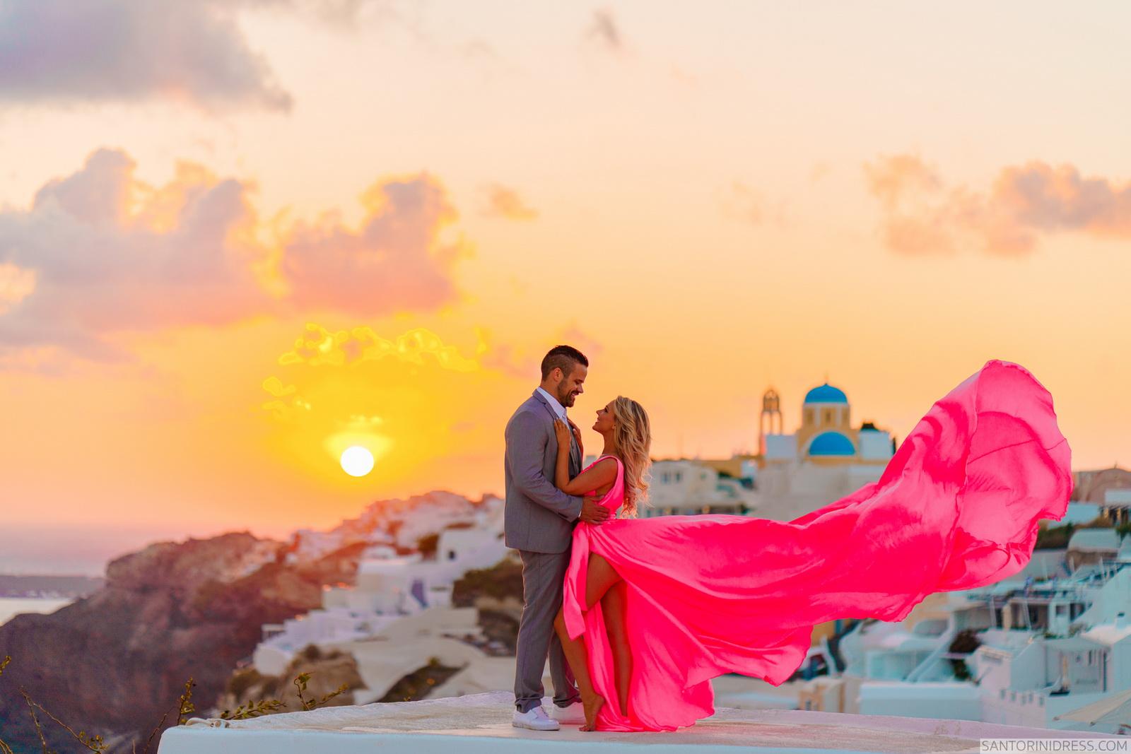 Shawna Bill: свадьба на санторини, свадебное агентство Julia Veselova - Фото 27