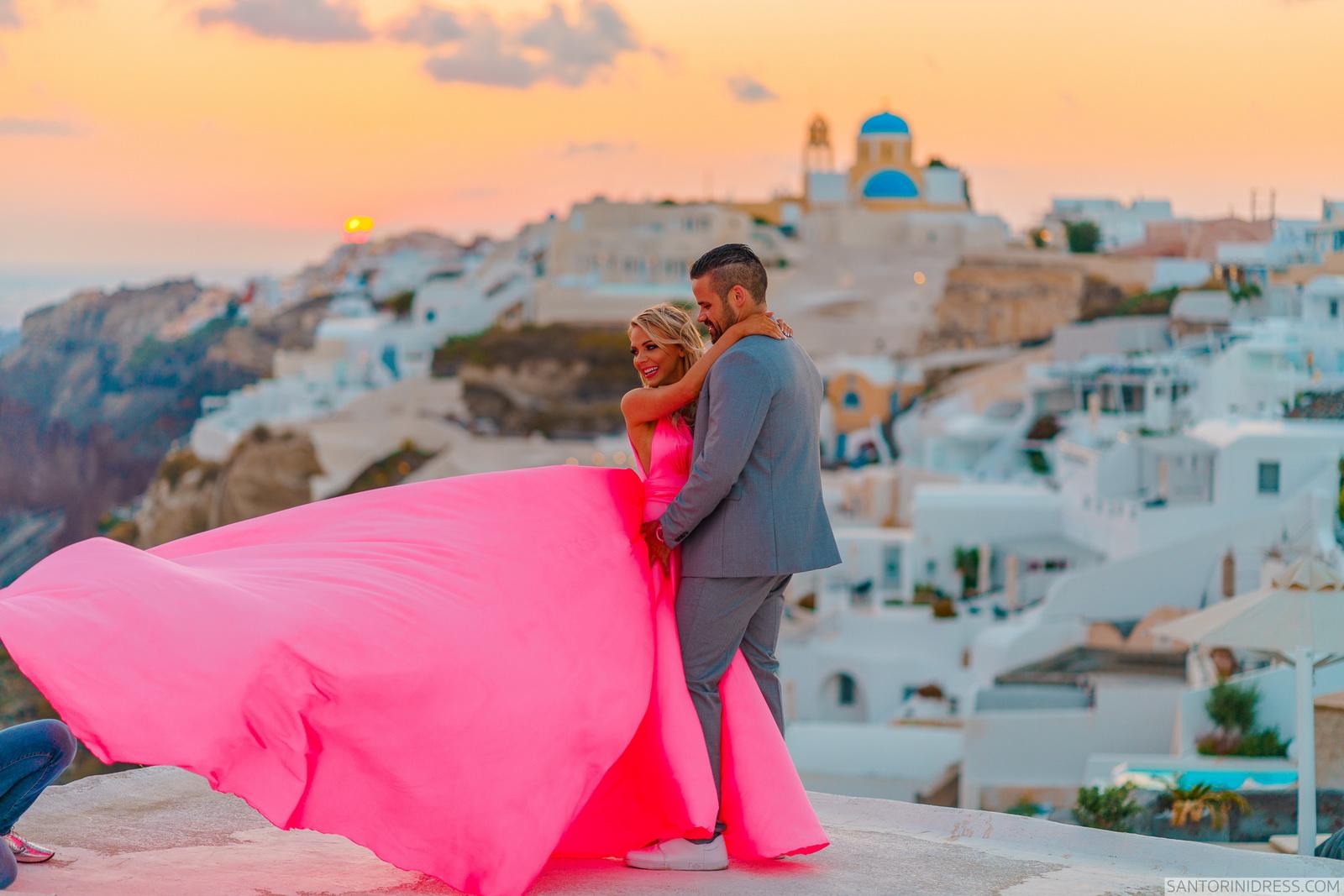 Shawna Bill: свадьба на санторини, свадебное агентство Julia Veselova - Фото 28